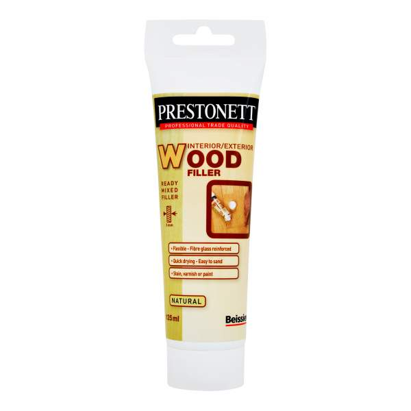 Prestonett Ready Mixed Wood Filler Natural