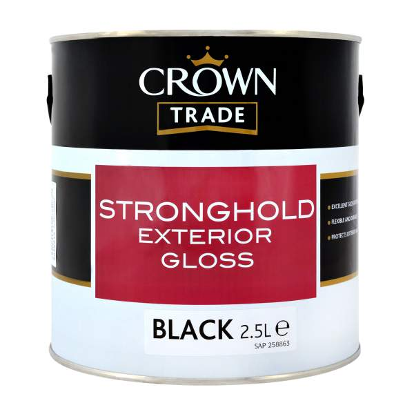 Stronghold Exterior Gloss Black 00E53 (Ready Mixed)