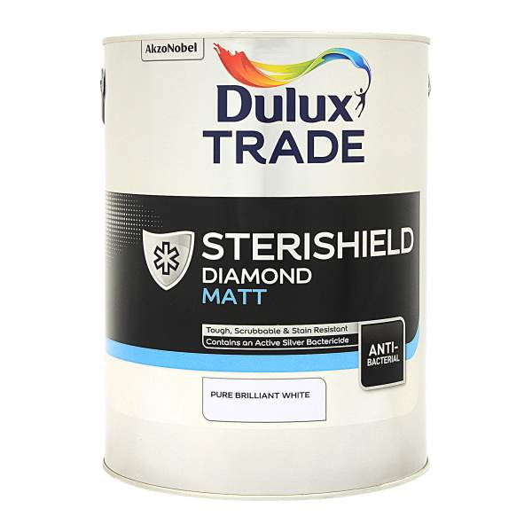 Sterishield Diamond Matt Pure Brilliant White