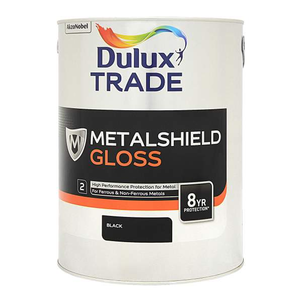 Metalshield Gloss Black (Ready Mixed)