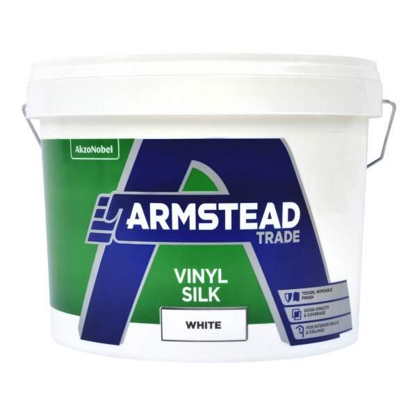 Armstead Trade Vinyl Silk White 10l