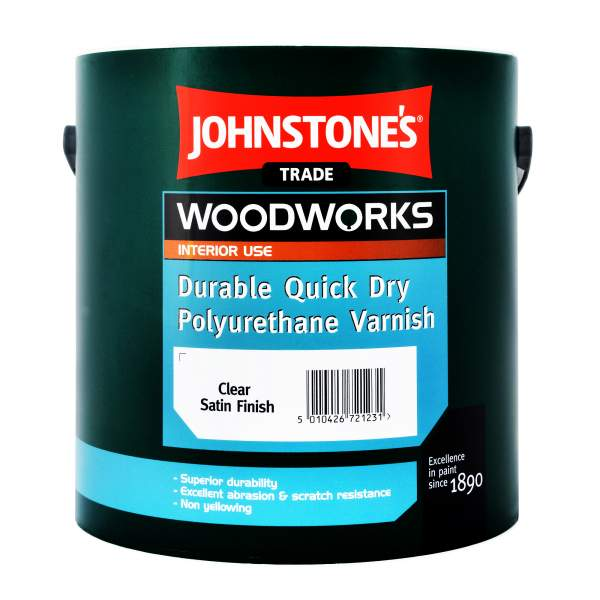 Durable Quick Dry Polyurethane Varnish Satin Clear