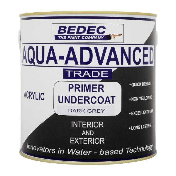 Aqua-Advanced Primer Undercoat Dark Grey (Ready Mixed)