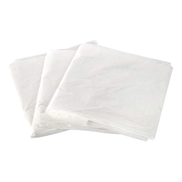 Polythene Dust Sheets Pack of 3
