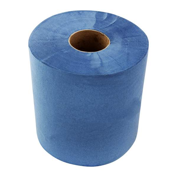 2 Ply Blue Towel Roll