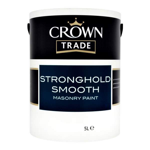 Stronghold Smooth Masonry Black 00E53 (Ready Mixed)