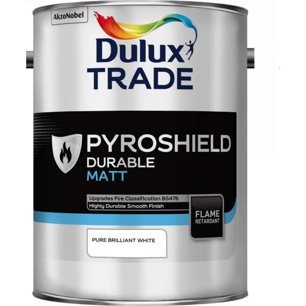 Pyroshield Durable Matt Pure Brilliant White