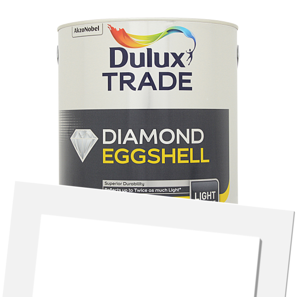 Diamond Eggshell Light & Space (Tinted)