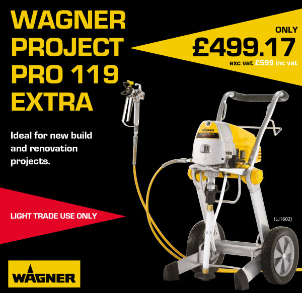 Wagner Project Pro 119 from Brewers and Spraystore