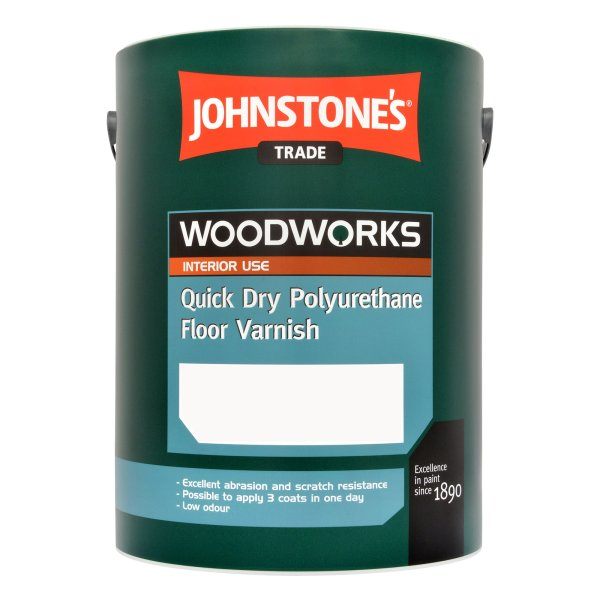 Quick Dry Polyurethane Floor Varnish Gloss Clear