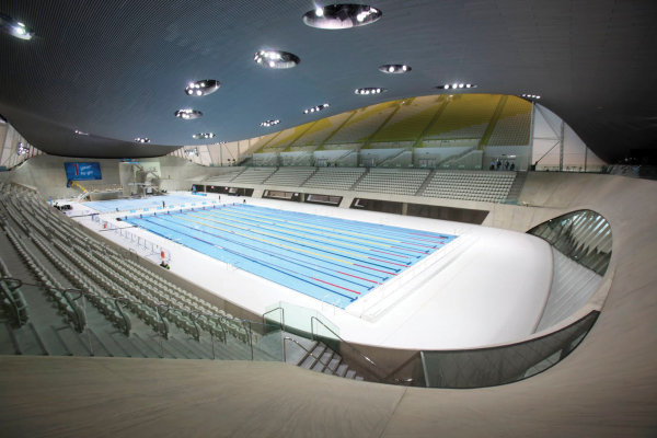 Brewers Specification Team helped in the construction of the London 2012 Aquatic Centre