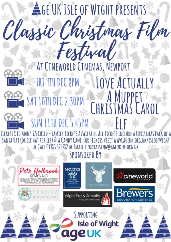 Age UK Isle of Wight Classic Christmas Film Festival 2016
