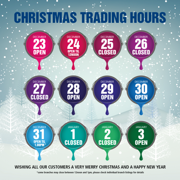 Christmas opening hours at Brewers