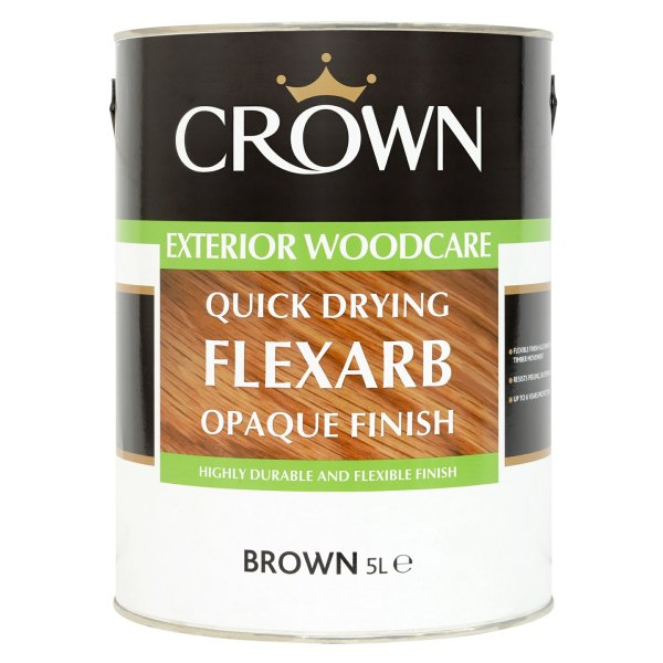 Quick Drying Flexarb Opaque Satin Brown (Tinted)