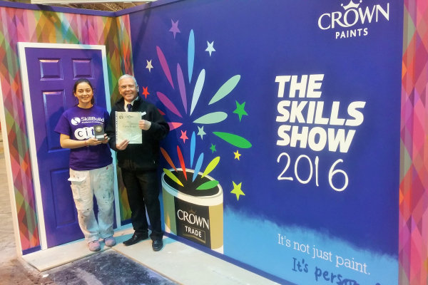 Crown Trade Apprentice Decorator of the Year 2016