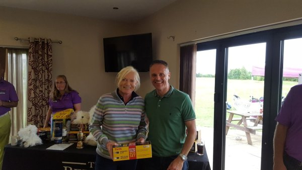 Julia Pickersgill - Longest Drive Competition