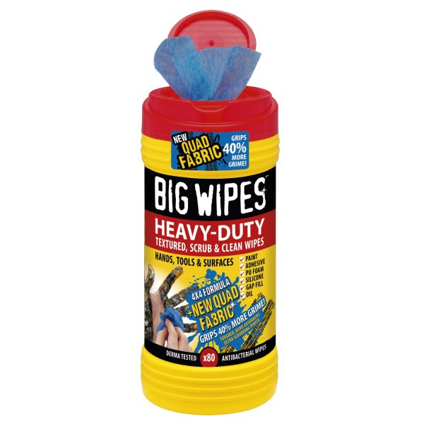 Heavy-Duty Big Wipes 4X4
