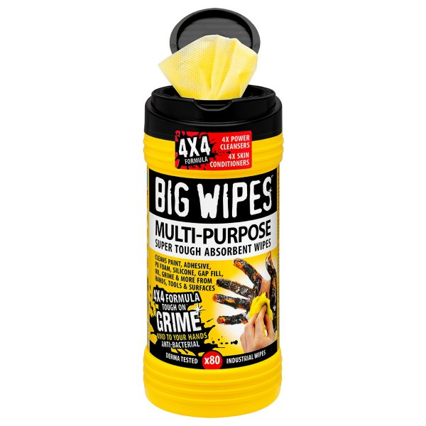 Multi-Purpose Big Wipes 4X4