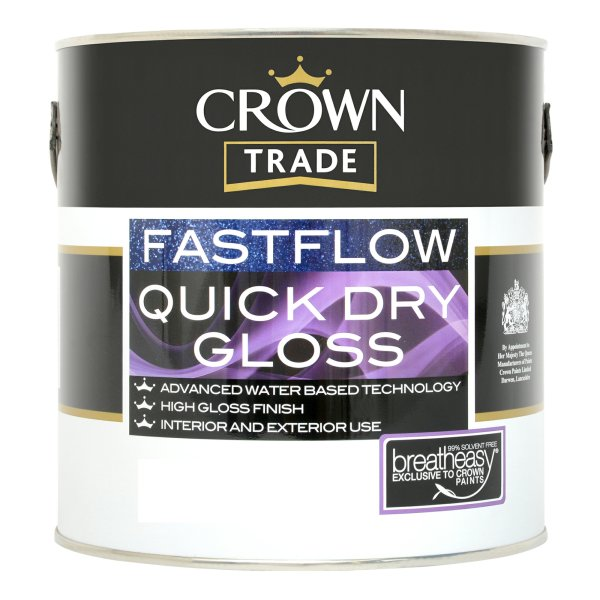 Fastflow Quick Dry Gloss Black (Ready Mixed)