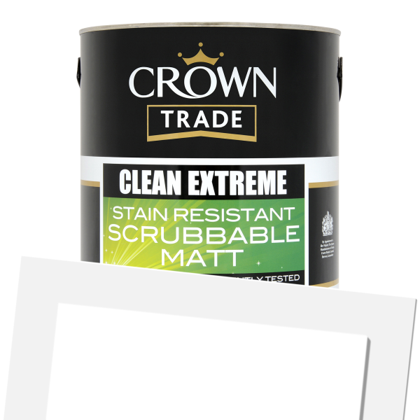 Clean Extreme Scrubbable Matt Colour (Tinted)