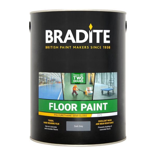 DP5 Floor Paint Dark Grey (Ready Mixed)