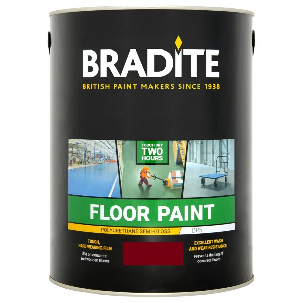 DP5 Floor Paint Cardinal Red (Ready Mixed)