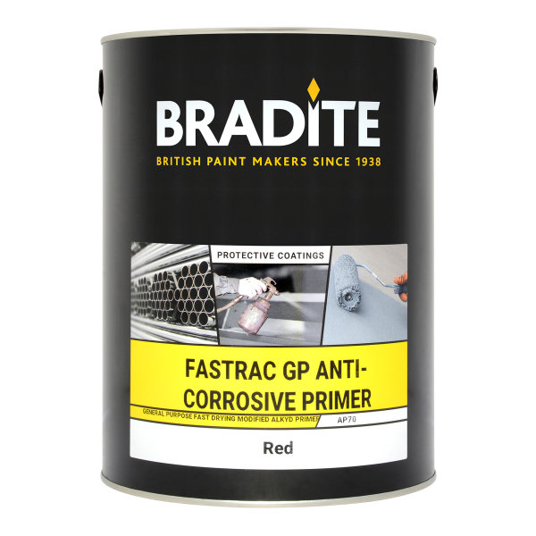 AP70 Fastrac GP Anti-Corrosive Primer Red Oxide (Ready Mixed)