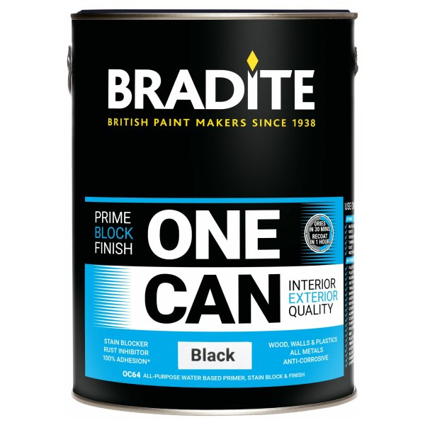 One Can Black (Ready Mixed)