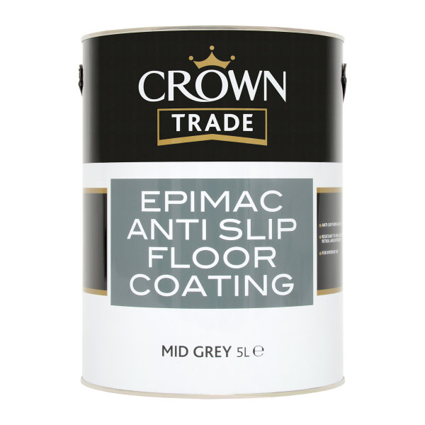 Epimac Anti-Slip Floor Coating Mid Grey (Ready Mixed)