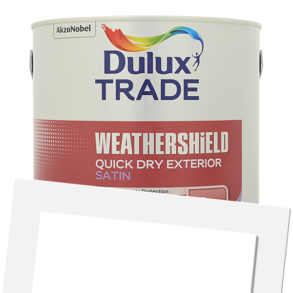 Weathershield Exterior Quick Drying Satin (Tinted)