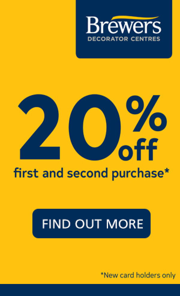 Save 20% open a Brewers Card!