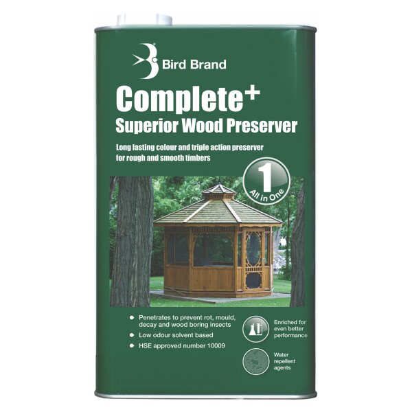Complete+ Superior Wood Preserver Clear