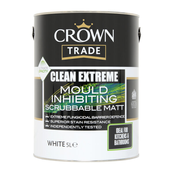 Clean Extreme Mould Inhibiting Scrubbable Matt White