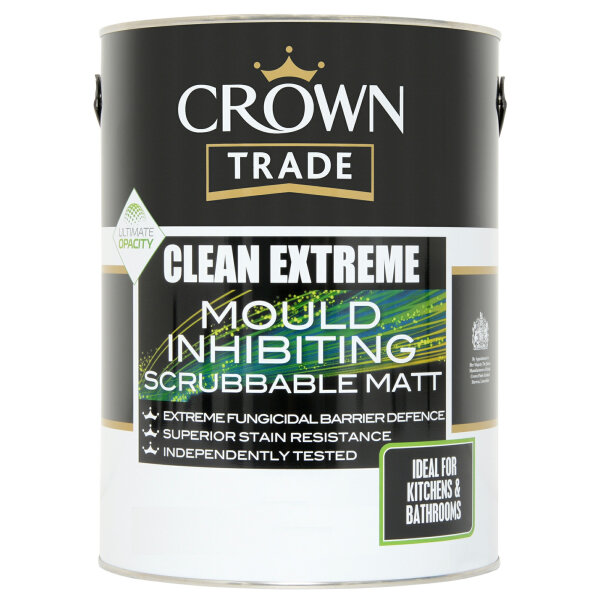 Clean Extreme Mould Inhibiting Scrubbable Matt Magnolia (Ready Mixed)