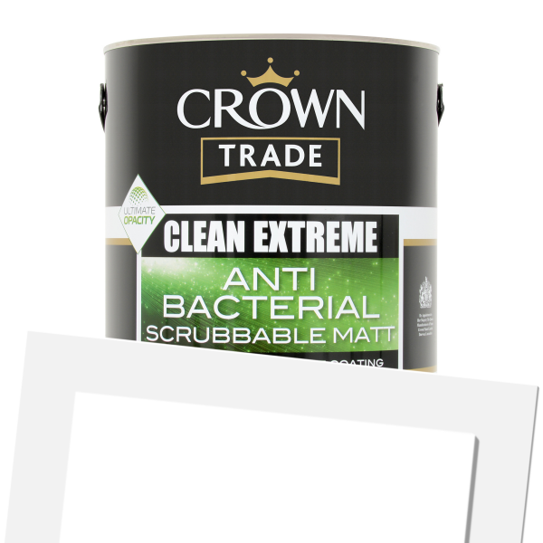 Clean Extreme Anti-Bacterial Scrubbable Matt (Tinted)