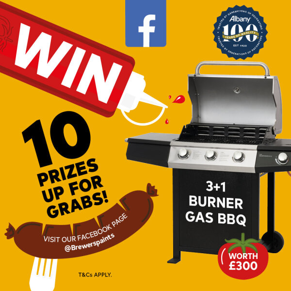 10 BBQ's up for grabs in Brewers latest Albany 100 competition