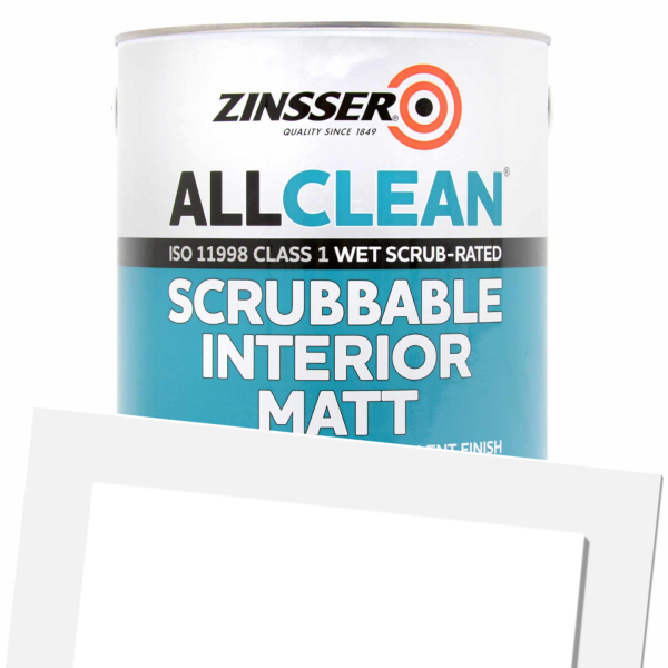AllClean Scrubbable Interior Matt (Tinted)