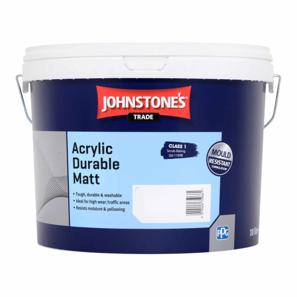 Acrylic Durable Matt Magnolia (Ready Mixed)